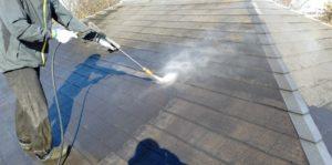 千葉県千葉市若葉区 A様邸 外壁塗装・屋根塗装・付帯部塗装 下地処理 高圧洗浄 (10)