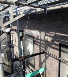 千葉県千葉市若葉区 A様邸 外壁塗装・屋根塗装・付帯部塗装 下地処理 高圧洗浄 (7)