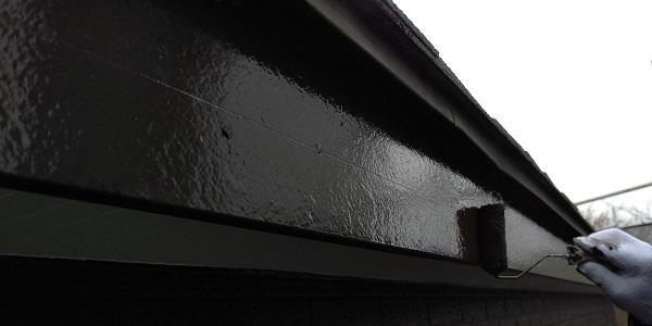 千葉県千葉市若葉区 A様邸 外壁塗装・屋根塗装・付帯部塗装 破風板塗装 ケレン作業(素地調整) (1)