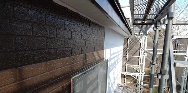 千葉県千葉市若葉区 A様邸 外壁塗装・屋根塗装・付帯部塗装 日本ペイント パーフェクトトップ ラジカル制御式 (4)