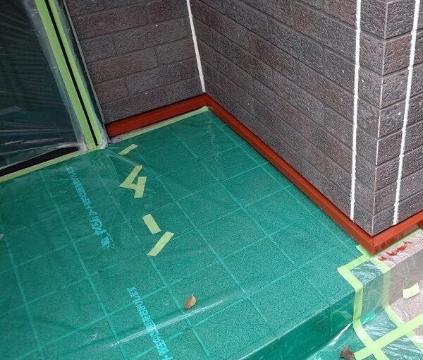 千葉県千葉市若葉区 A様邸 外壁塗装・屋根塗装・付帯部塗装 棟板金、土台水切り塗装 (4)