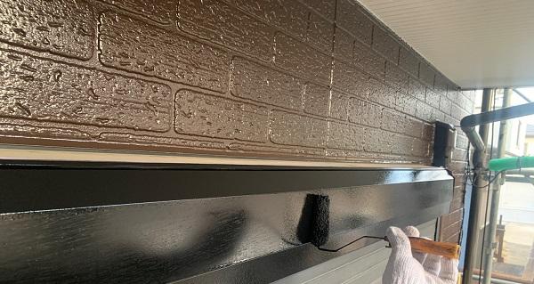 千葉県千葉市若葉区 A様邸 外壁塗装・屋根塗装・付帯部塗装 シャッターボックス塗装 (2)