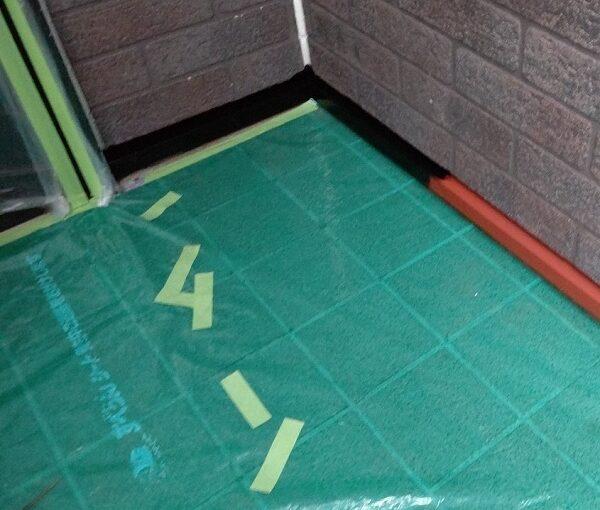 千葉県千葉市若葉区 A様邸 外壁塗装・屋根塗装・付帯部塗装 棟板金、土台水切り塗装 (2)