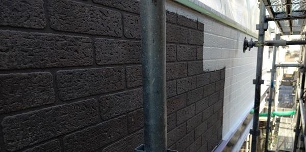 千葉県千葉市若葉区 A様邸 外壁塗装・屋根塗装・付帯部塗装 日本ペイント パーフェクトトップ ラジカル制御式 (5)