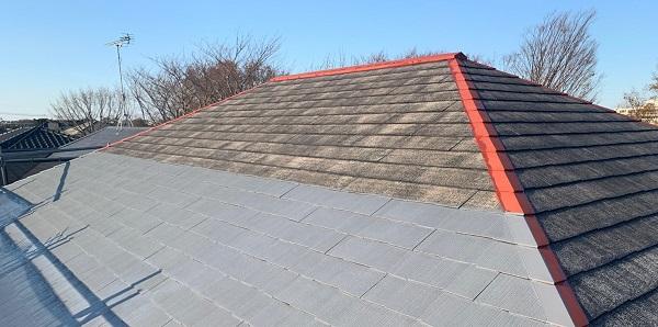 千葉県千葉市若葉区 A様邸 外壁塗装・屋根塗装・付帯部塗装 下塗り2回 タスペーサー (4)