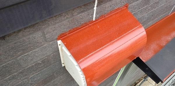 千葉県千葉市若葉区 A様邸 外壁塗装・屋根塗装・付帯部塗装 換気フード・庇の塗装 (5)
