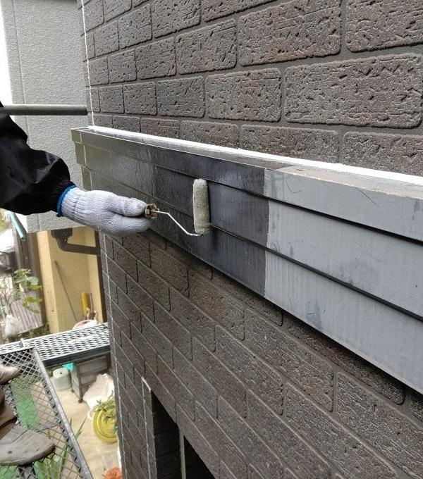 千葉県千葉市若葉区 A様邸 外壁塗装・屋根塗装・付帯部塗装 帯板(幕板)塗装の手順とメンテナンスの種類 (3)