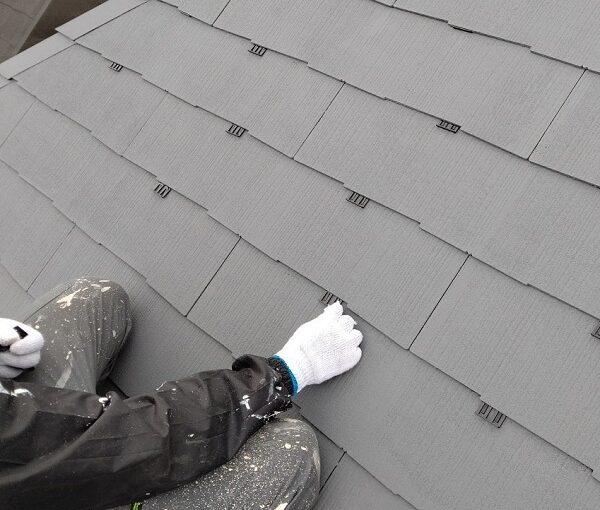 千葉県千葉市若葉区 A様邸 外壁塗装・屋根塗装・付帯部塗装 下塗り2回 タスペーサー (2)