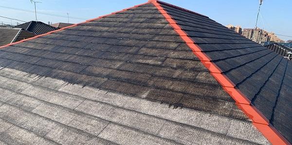 千葉県千葉市若葉区 A様邸 外壁塗装・屋根塗装・付帯部塗装 下塗り2回 タスペーサー (3)