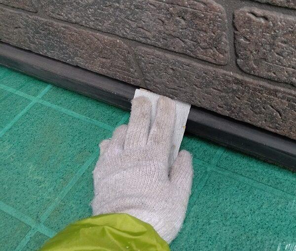 千葉県千葉市若葉区 A様邸 外壁塗装・屋根塗装・付帯部塗装 棟板金、土台水切り塗装 (5)