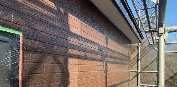 千葉県千葉市若葉区 A様邸 外壁塗装・屋根塗装・付帯部塗装 日本ペイント パーフェクトトップ ラジカル制御式 (2)