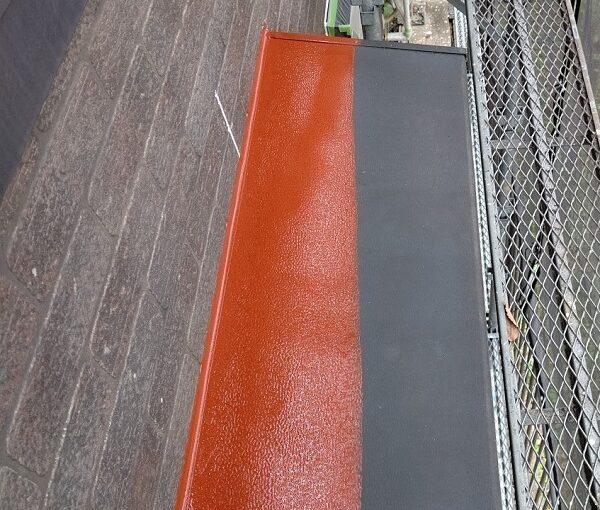 千葉県千葉市若葉区 A様邸 外壁塗装・屋根塗装・付帯部塗装 換気フード・庇の塗装 (6)