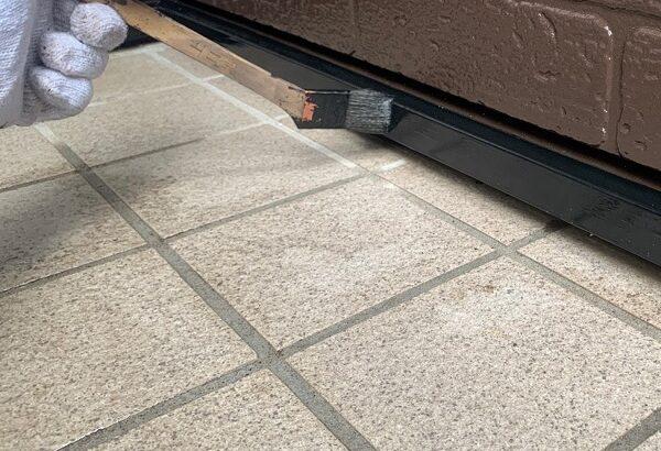 千葉県千葉市若葉区 A様邸 外壁塗装・屋根塗装・付帯部塗装 棟板金、土台水切り塗装 (1)