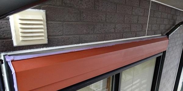 千葉県千葉市若葉区 A様邸 外壁塗装・屋根塗装・付帯部塗装 シャッターボックス塗装 (4)