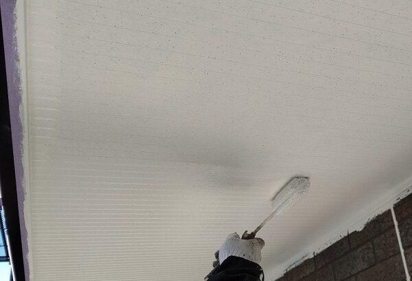千葉県千葉市若葉区 A様邸 外壁塗装・屋根塗装・付帯部塗装 軒天塗装の工程 どんな色にするべきか (2)