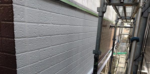 千葉県千葉市若葉区 A様邸 外壁塗装・屋根塗装・付帯部塗装 日本ペイント パーフェクトトップ ラジカル制御式 (3)