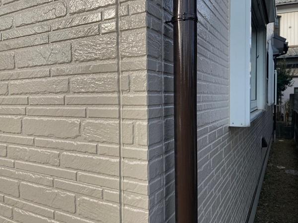 千葉県千葉市稲毛区 N様邸 外壁塗装 付帯部塗装 軒天 雨樋 (1)