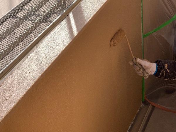 千葉県千葉市中央区 Gマンション 外壁塗装 中塗り・上塗り 塗装回数を省く手抜き業者にご注意ください! (3)