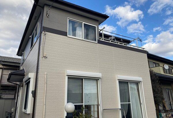 千葉県千葉市稲毛区 N様邸 外壁塗装 付帯部塗装 塗料とペンキの違い 日本ペイント パーフェクトトップ ラジカル制御式 (2)