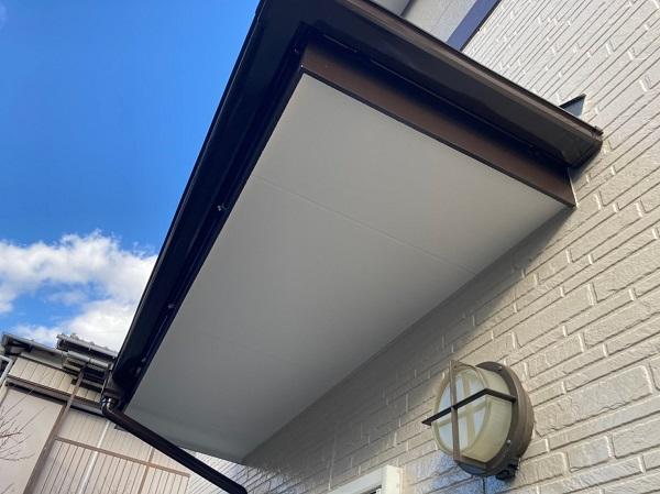 千葉県千葉市稲毛区 N様邸 外壁塗装 付帯部塗装 軒天 雨樋 (3)