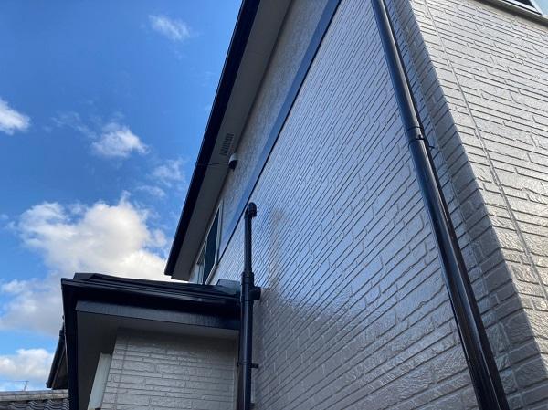 千葉県千葉市稲毛区 N様邸 外壁塗装 付帯部塗装 塗料とペンキの違い 日本ペイント パーフェクトトップ ラジカル制御式 (3)
