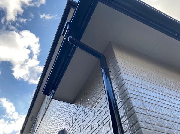千葉県千葉市稲毛区 N様邸 外壁塗装 付帯部塗装 軒天 雨樋 (4)
