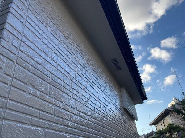 千葉県千葉市稲毛区 N様邸 外壁塗装 付帯部塗装 塗料とペンキの違い 日本ペイント パーフェクトトップ ラジカル制御式 (5)