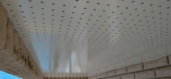 千葉県千葉市稲毛区 K様邸 外壁塗装・防水工事 軒天塗装 マックスシールド (9)