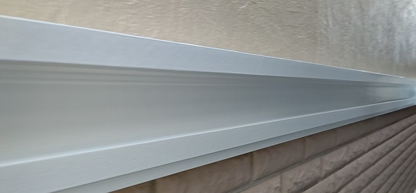 千葉県千葉市稲毛区 K様邸 外壁塗装・防水工事 帯板塗装 写真付き工程 (4)