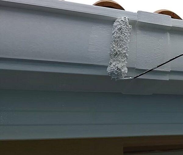 千葉県千葉市稲毛区 K様邸 外壁塗装・防水工事 横樋・軒樋の塗装 雨樋の役割とは (7)