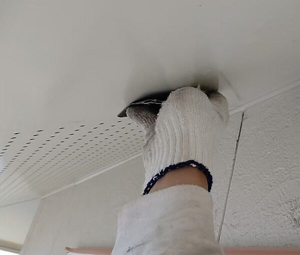 千葉県千葉市稲毛区 K様邸 外壁塗装・防水工事 軒天塗装 マックスシールド (6)