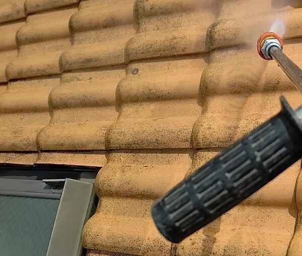 千葉県千葉市稲毛区 K様邸 外壁塗装・防水工事 下地処理 高圧洗浄 (8)