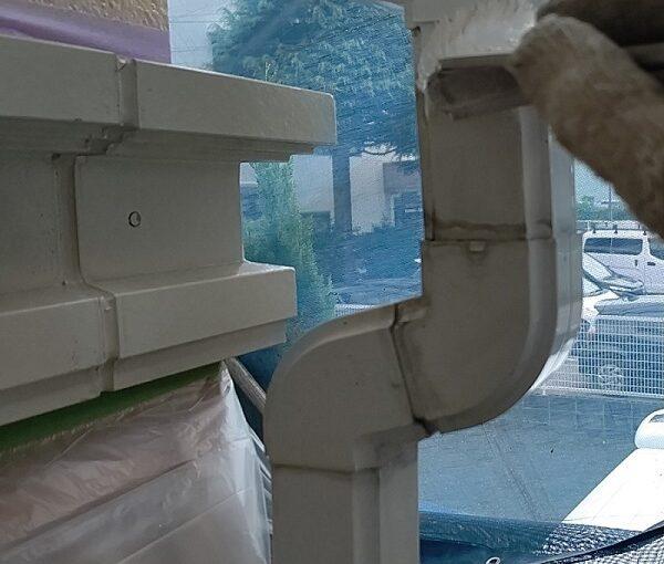 千葉県千葉市稲毛区 K様邸 外壁塗装・防水工事 竪樋・縦樋塗装 雨樋の名称 (8)