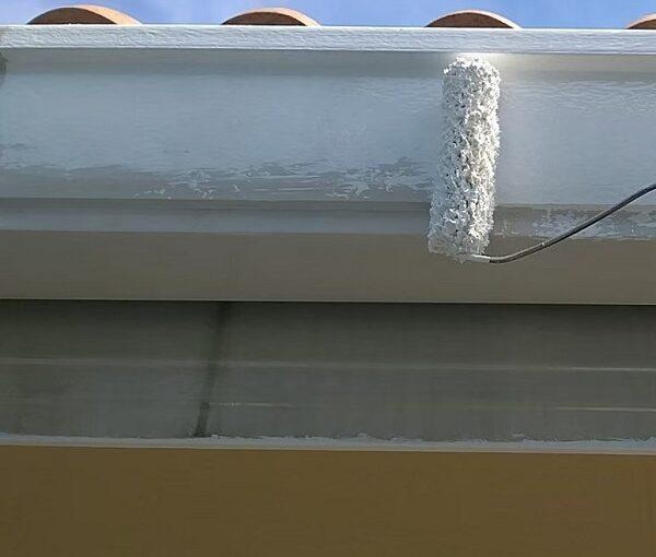 千葉県千葉市稲毛区 K様邸 外壁塗装・防水工事 横樋・軒樋の塗装 雨樋の役割とは (8)