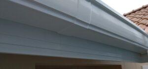 千葉県千葉市稲毛区 K様邸 外壁塗装・防水工事 破風板 鼻隠し塗装 (8)