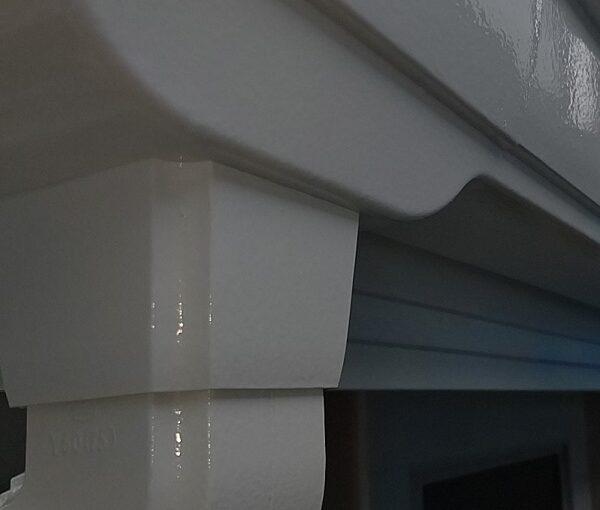 千葉県千葉市稲毛区 K様邸 外壁塗装・防水工事 横樋・軒樋の塗装 雨樋の役割とは (11)