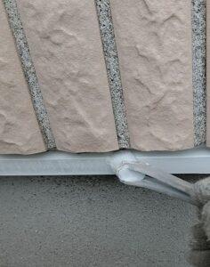 千葉県千葉市稲毛区 K様邸 外壁塗装・防水工事 土台水切り塗装 錆び止め (1)