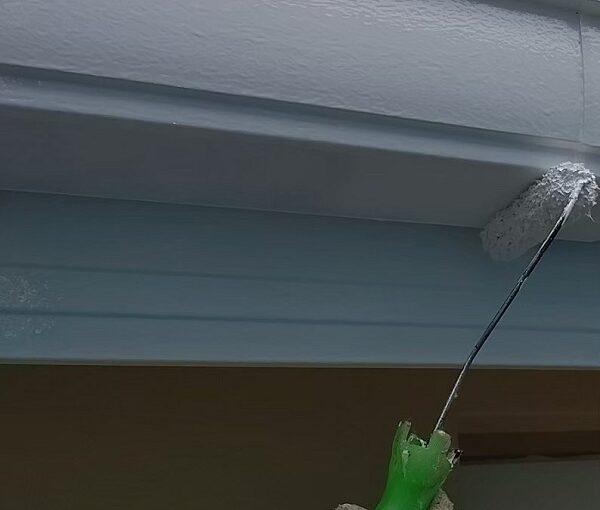 千葉県千葉市稲毛区 K様邸 外壁塗装・防水工事 横樋・軒樋の塗装 雨樋の役割とは (6)