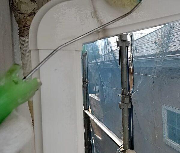 千葉県千葉市稲毛区 K様邸 外壁塗装・防水工事 竪樋・縦樋塗装 雨樋の名称 (4)