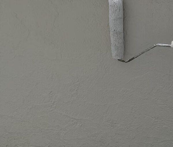 千葉県千葉市稲毛区 K様邸 外壁塗装・防水工事 外壁下塗り ダイヤフレックス ダイヤワイドシーラー (3)