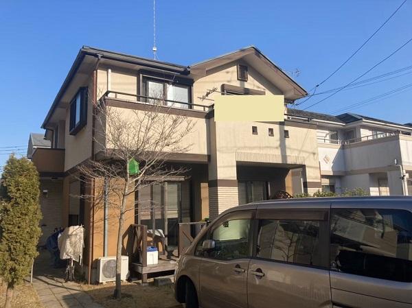 千葉県成田市 H様邸 屋根重ね葺き工事 外壁塗装 施工前の様子 屋根のメンテナンス方法とは