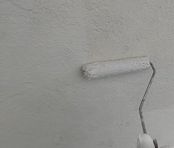 千葉県千葉市稲毛区 K様邸 外壁塗装・防水工事 外壁下塗り ダイヤフレックス ダイヤワイドシーラー (1)