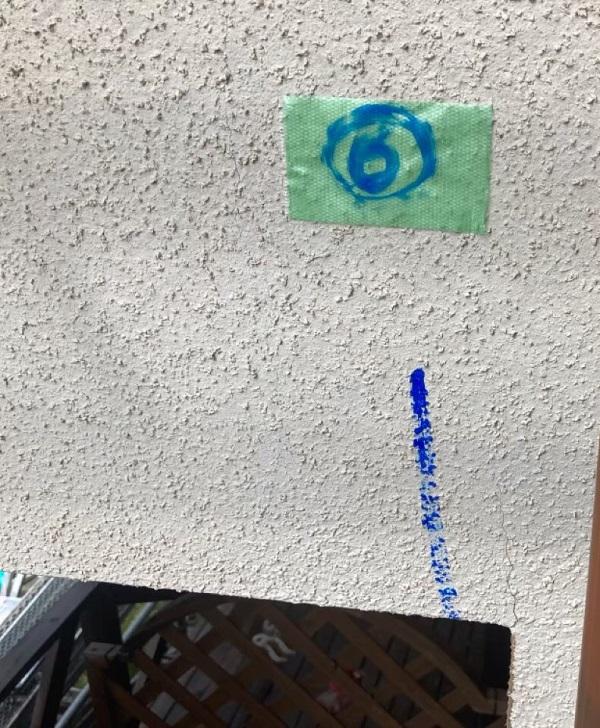 千葉県成田市 H様邸 屋根重ね葺き工事 外壁塗装 外壁劣化補修 ひび割れ(クラック) (6)