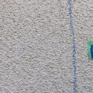 千葉県成田市 H様邸 屋根重ね葺き工事 外壁塗装 外壁劣化補修 ひび割れ(クラック) (4)