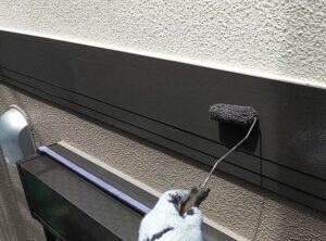 千葉県成田市 H様邸 屋根重ね葺き工事 外壁塗装 帯板塗装 劣化の放置は雨漏りの原因になります! (1)
