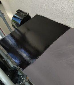 千葉県成田市 H様邸 屋根重ね葺き工事 外壁塗装 庇塗装 (4)