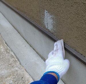 千葉県成田市 H様邸 屋根重ね葺き工事 外壁塗装 水切り塗装 手順 (1)