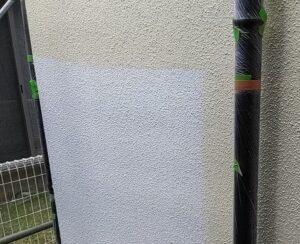 千葉県成田市 H様邸 屋根重ね葺き工事 外壁塗装 外壁中塗り 上塗り (3)