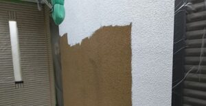 千葉県成田市 H様邸 屋根重ね葺き工事 外壁塗装 下塗り (4)