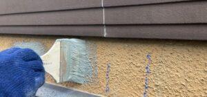 千葉県成田市 H様邸 屋根重ね葺き工事 外壁塗装 外壁劣化補修 ひび割れ(クラック) (2)